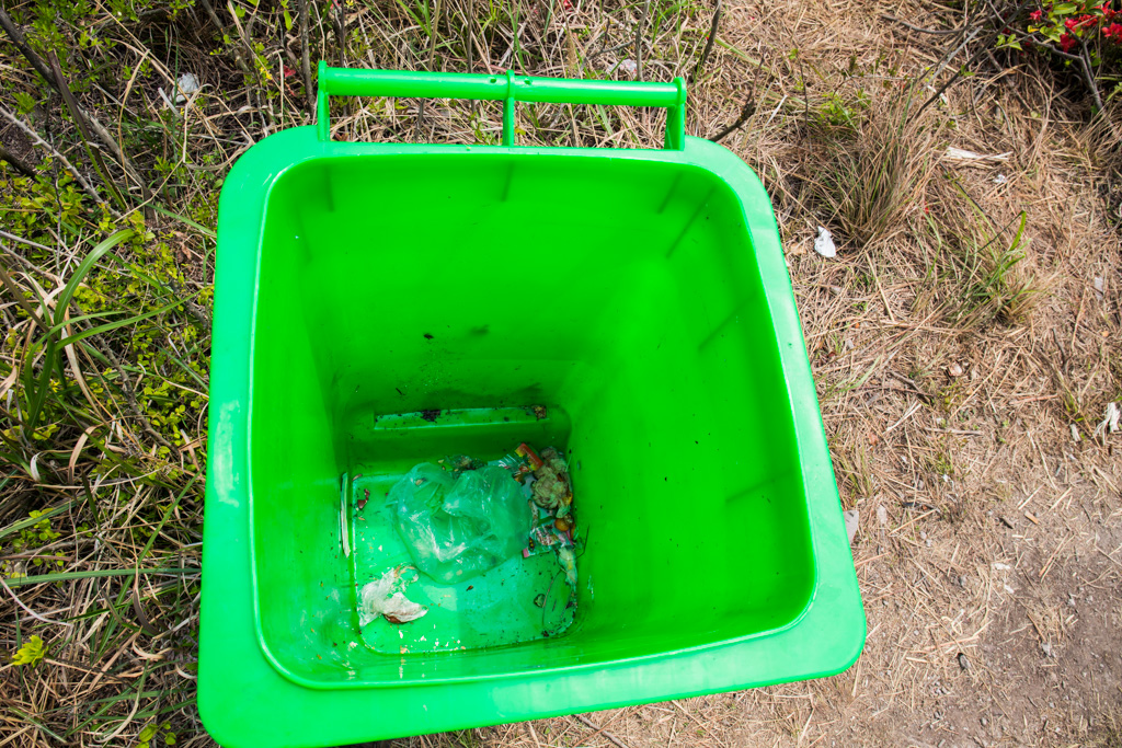 我不知道为什么这个垃圾桶空的