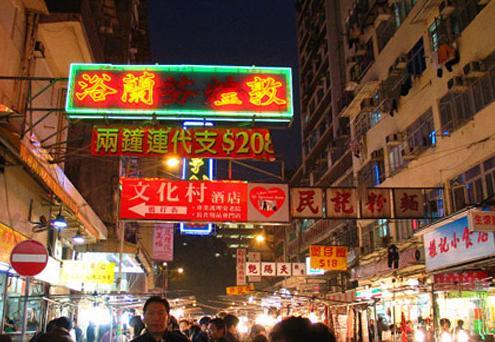 闲逛香港:黑帮电影里鱼龙混杂的庙街